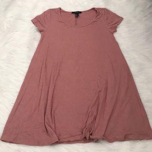 Mauve Tshirt Dress